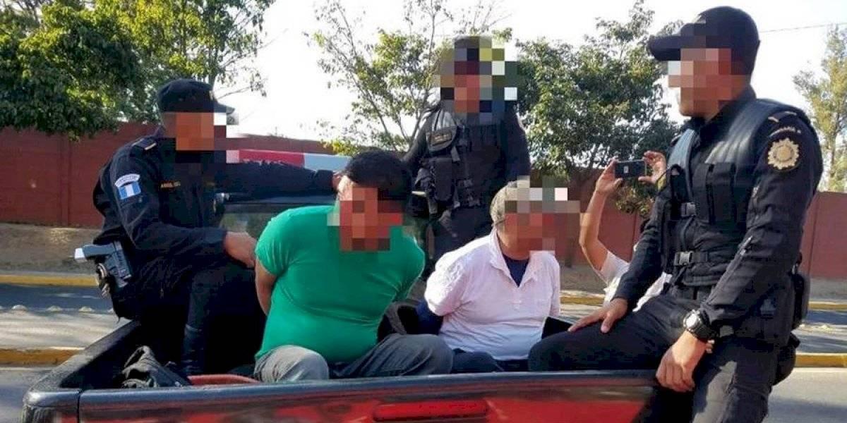 PNC detiene a personas que violaron el toque de queda