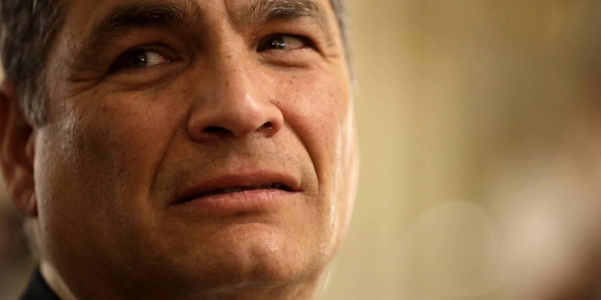 Rafael Correa sentencia que la persona más capaz para manejar la crisis es Jorge Glas