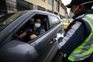 Operativos de control en Quito