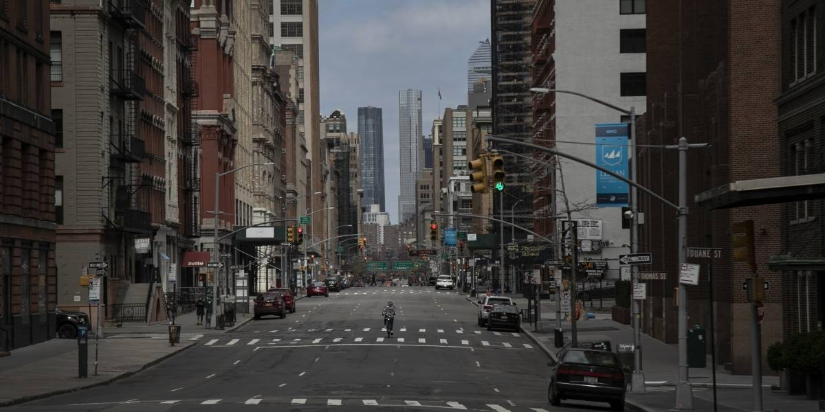 Se acelera la tasa de contagios en Nueva York