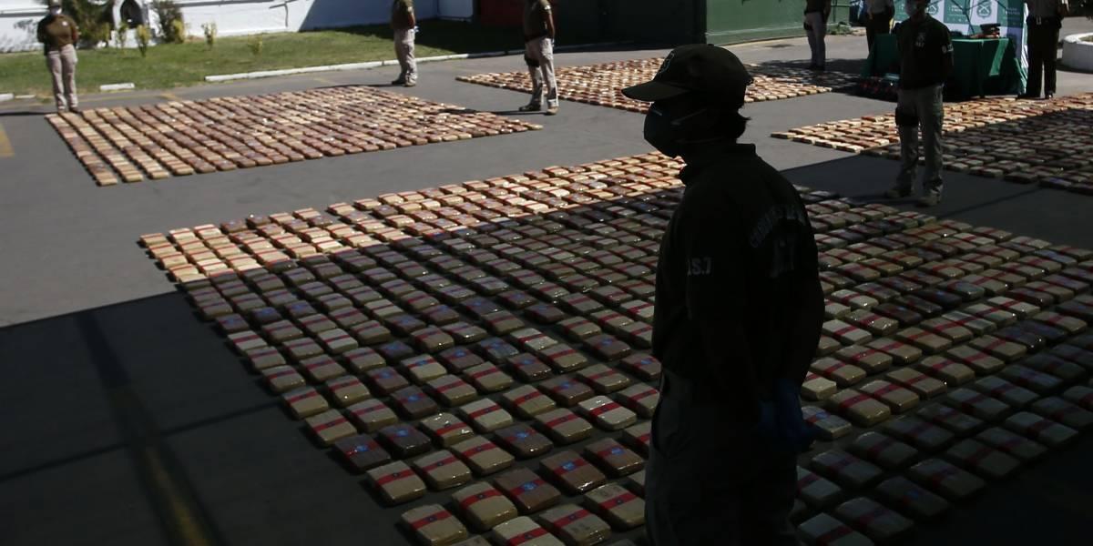 OS7 de Carabineros logró histórico decomiso de dos toneladas de marihuana creepy