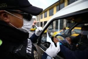 Emergencia sanitaria: 339 conductores sancionados en Quito por incumplimiento de medidas de restricción vehicular
