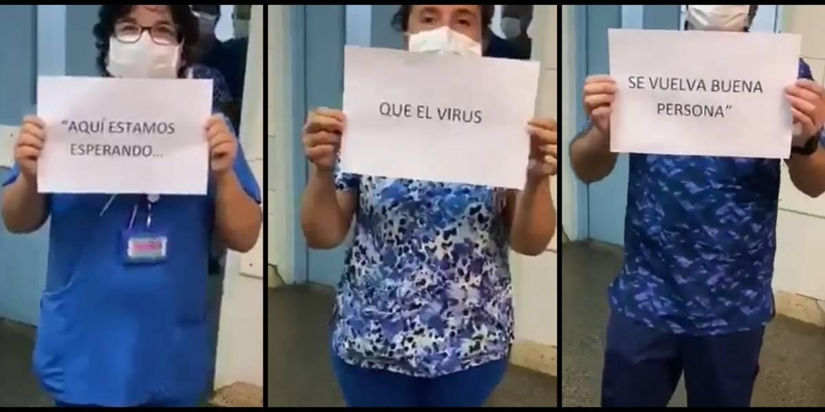 """Primera Línea"" de Hospital de Chillán denuncia falta de insumos e irresponsabilidad de Mañalich"