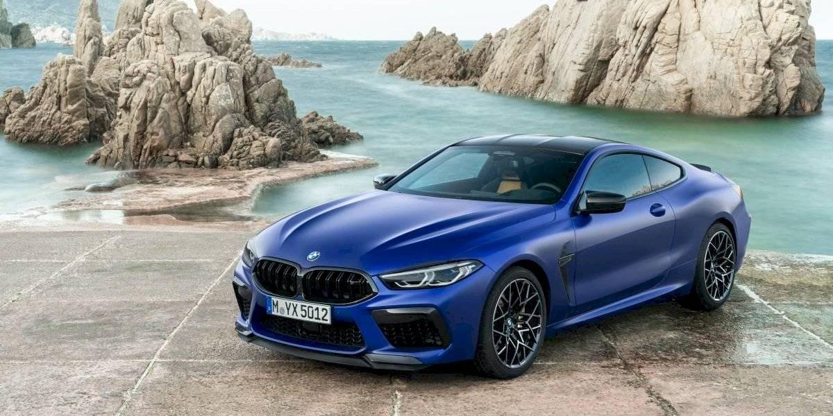 BMW saca el máximo rendimiento con su M8 Competition Coupé
