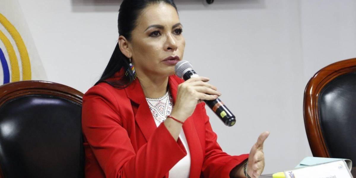 Presidenta del CNE propone aplazar de las elecciones presidenciales 2021