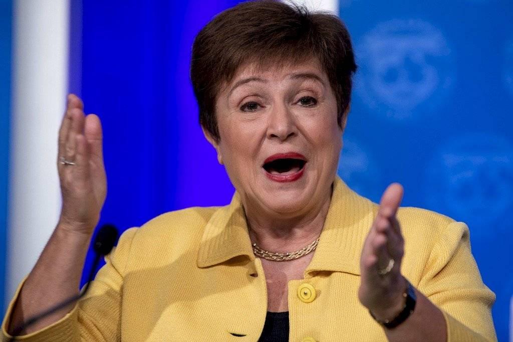 Kristalina Georgieva, directora gerente del Fondo Monetario Internacional (FMI)
