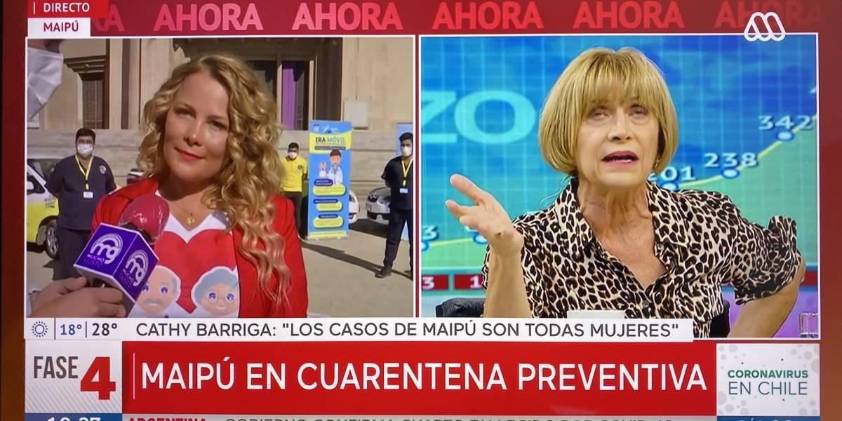 Cathy Barriga vs. matinal de Mega: La pelea completa tras anuncio de nuevo fallecido en Maipú