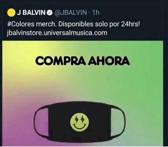 Tuit J Balvin