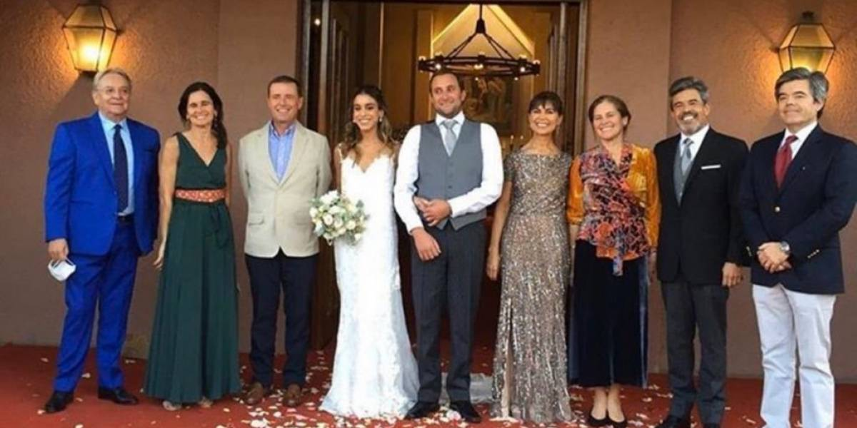 "Matrimonio en Vitacura desata ola de críticas: asistió desde ex ministro de Piñera a ""Coco"" Legrand"