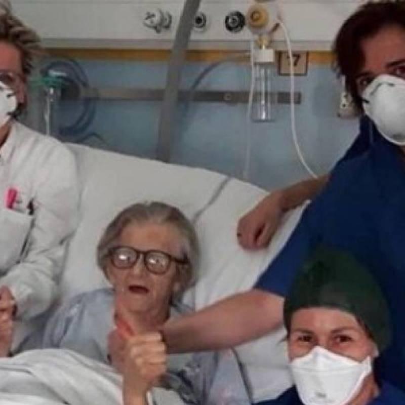 Video muestra hospital colapsado en España por pacientes de coronavirus
