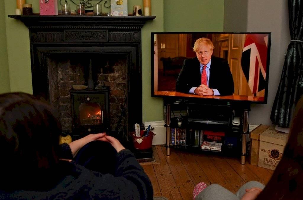 Mensaje de Boris Johnson
