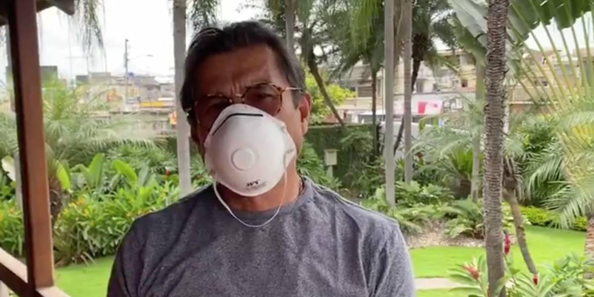 Alcalde de Milagro, Francisco Asán, dio positivo para coronavirus