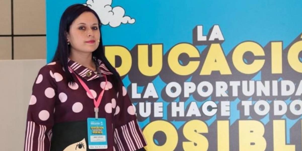 ¡Orgullo! Profesora colombiana es nominada a mejor maestra del mundo