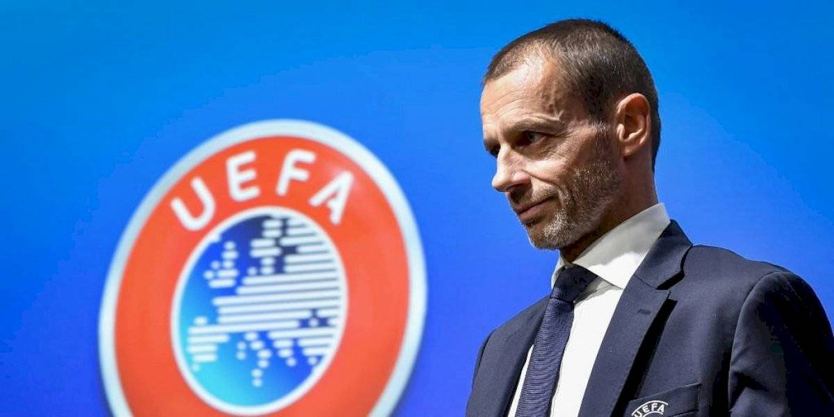 """Presidente de la UEFA da un ultimátum: """"Lo más importante es jugar los partidos"""""""