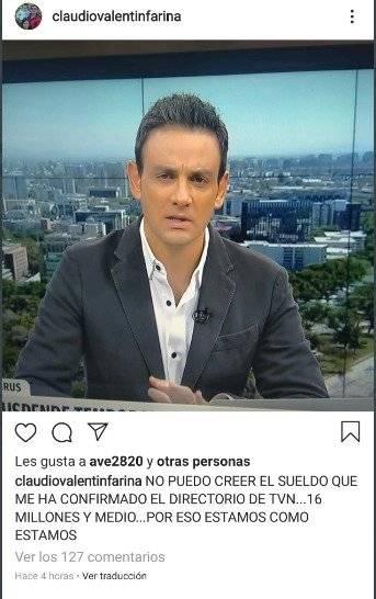 Mensaje Claudio Fariña