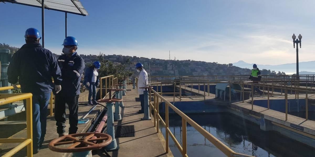 Quito registra una baja del 40% en el consumo de agua
