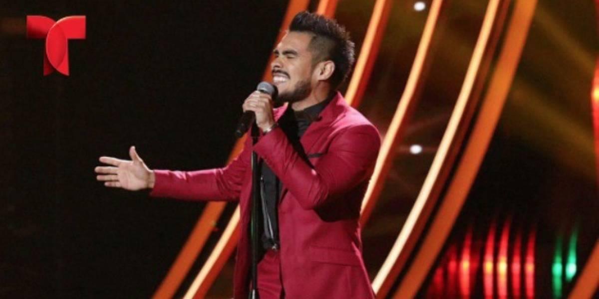 El salsero Jimmy Rodríguez brilla en el escenario de La Voz