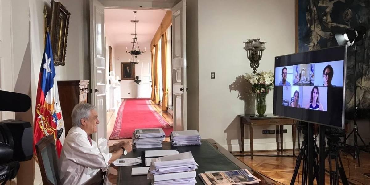 """Piñera promulga Ley de Teletrabajo de manera """"diferente"""""""