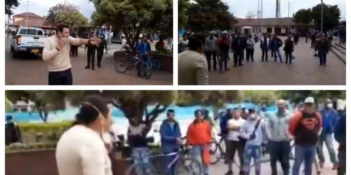 """""""¡Tomemos conciencia, carajo!"""": alcalde regañó a ciudadanos que incumplían aislamiento"""