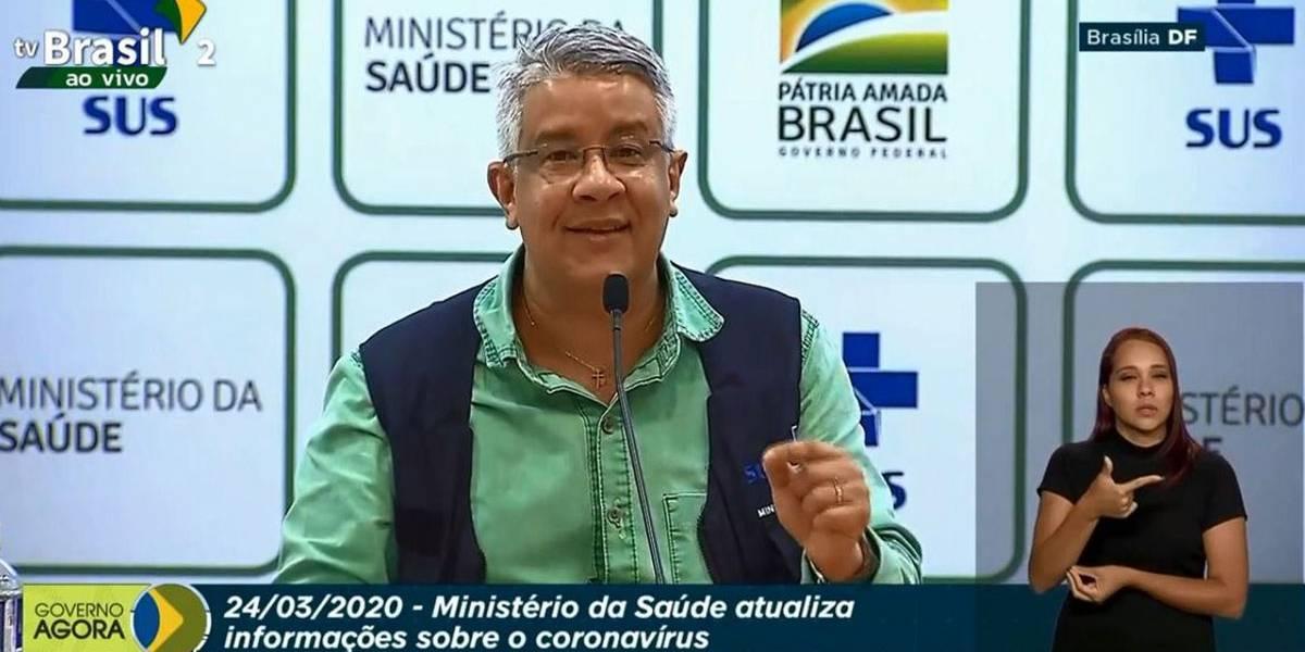 Brasil tem 77 mortes e 2.915 casos confirmados de coronavírus