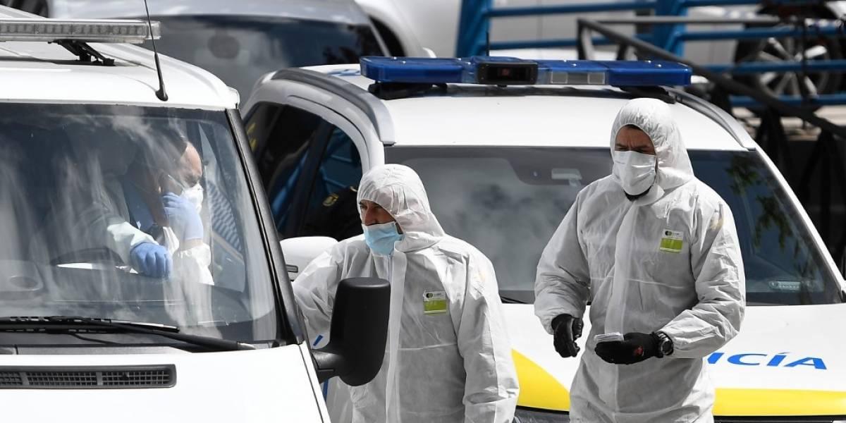 España registra más de 500 muertes por coronavirus en un día; roza las 2mil 700
