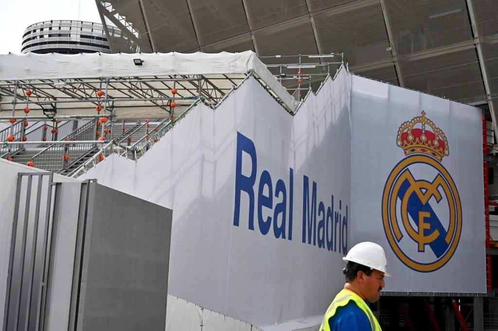 Real Madrid ayuda material sanitario