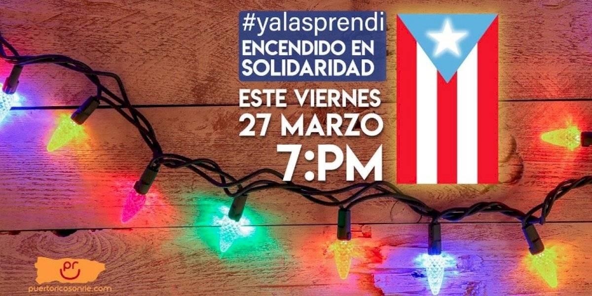 """Convocan """"Encendido de Solidaridad"""" ante emergencia que vive Puerto Rico"""