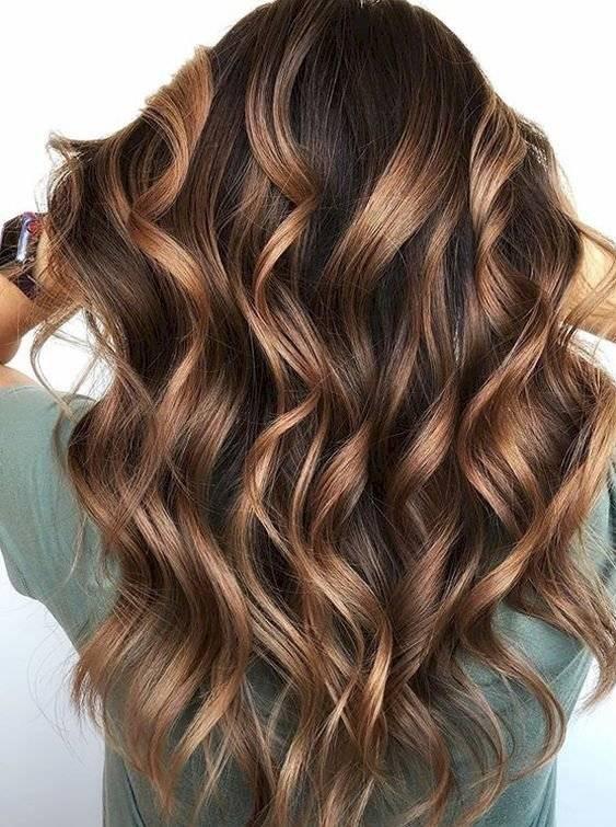 tintes para morenas con cabello largo