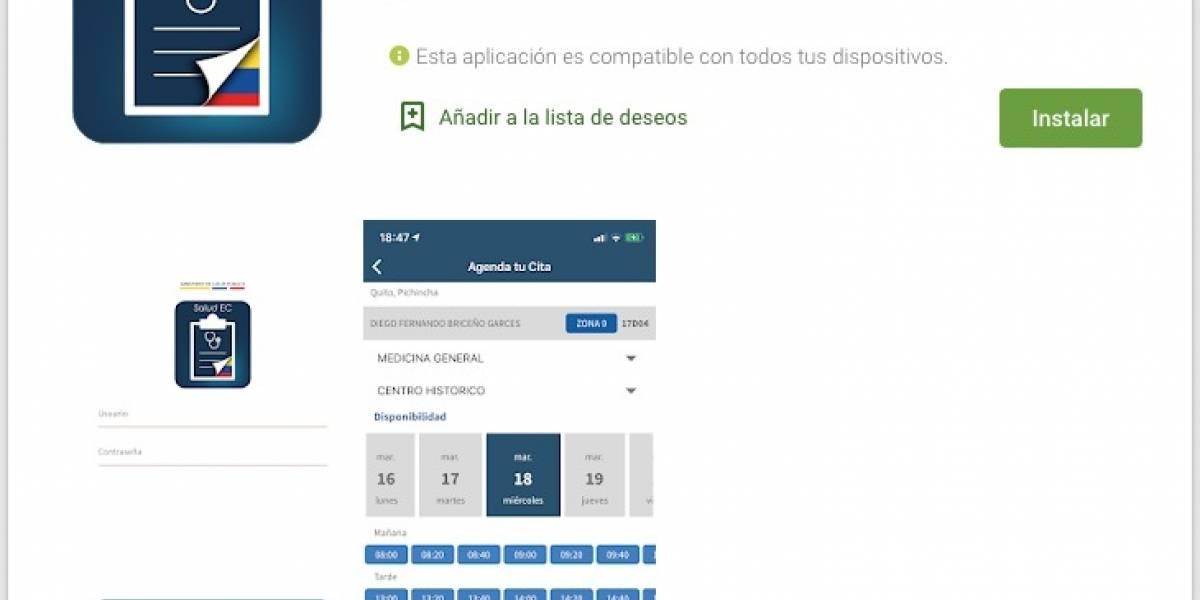 ¿Cómo funciona SaludEC, app para realizar evaluación de coronavirus?