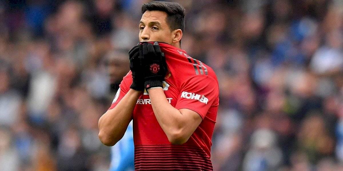 """En Inglaterra no quieren a Alexis en el United: """"Quizás la MLS, China o en Sudamérica se arriesguen con él"""""""