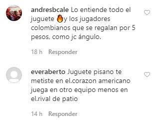 Matías Pisano no jugaría en Cali e hinchas de América