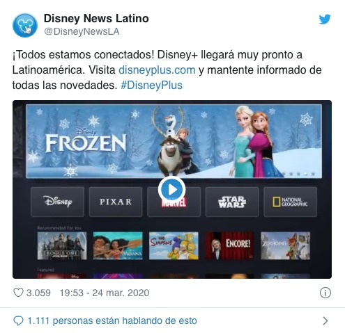 Disney Plus América Latina