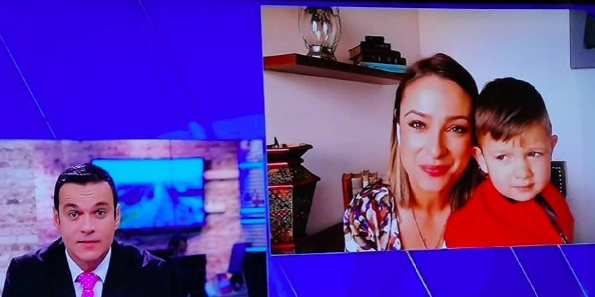 El feo detalle que Juan Diego Alvira tuvo con Mónica Jaramillo después de su salida, según los televidentes
