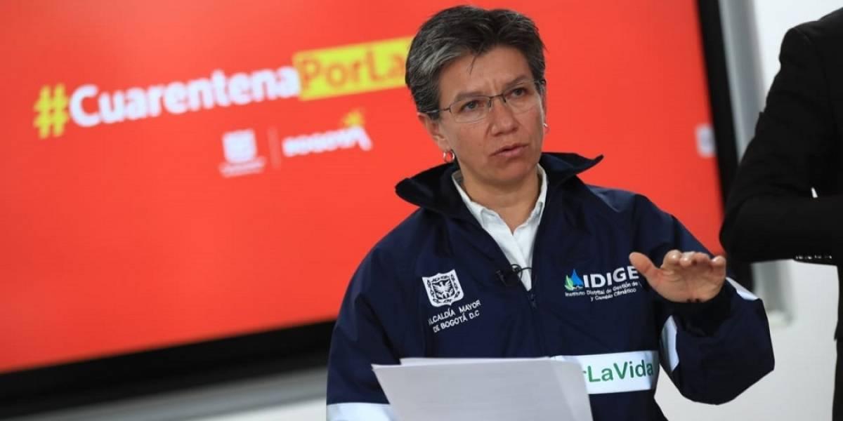Claudia López reprende a Santa Fe por medida machista sobre salarios
