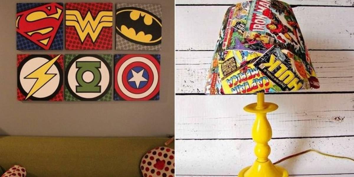 Confira alguns elementos de decoração geek que vão deixar sua casa muito criativa