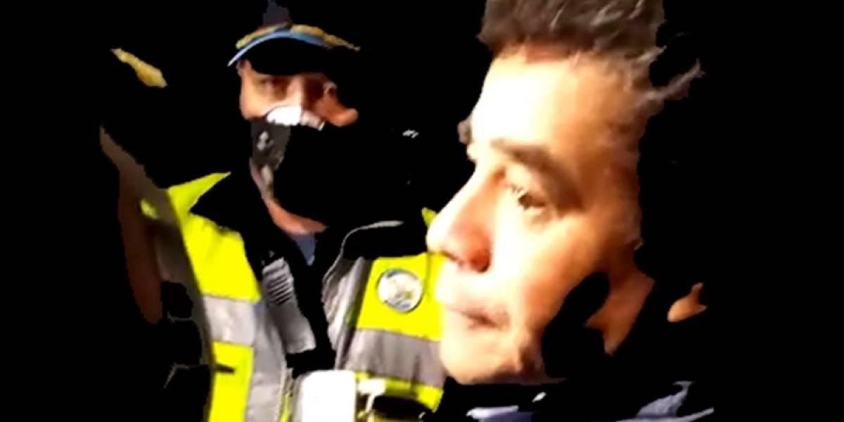 VIDEO. Diputado es detenido en Villa Nueva por conducir en estado de ebriedad