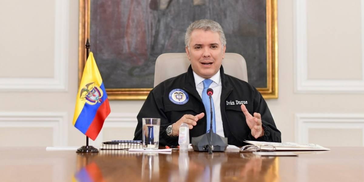 """""""Yo soy el presidente"""": dijo Duque tras las críticas de Claudia López"""