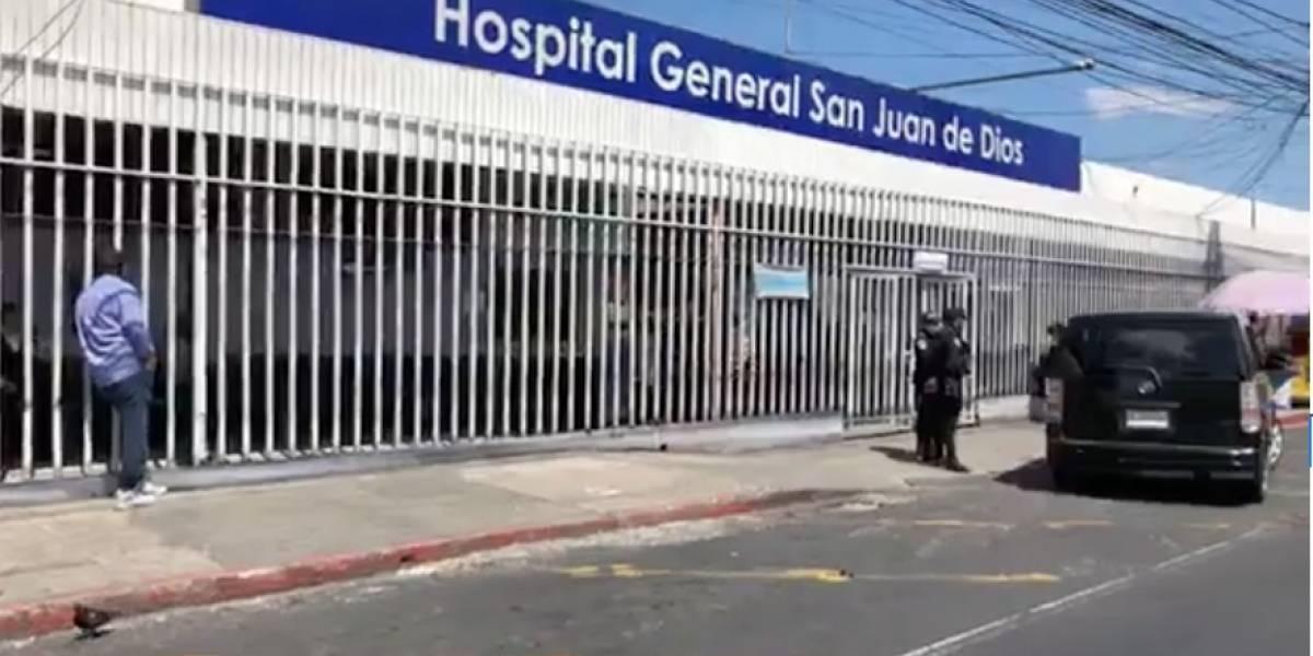 Mujer fallece previo a ingresar al hospital San Juan de Dios