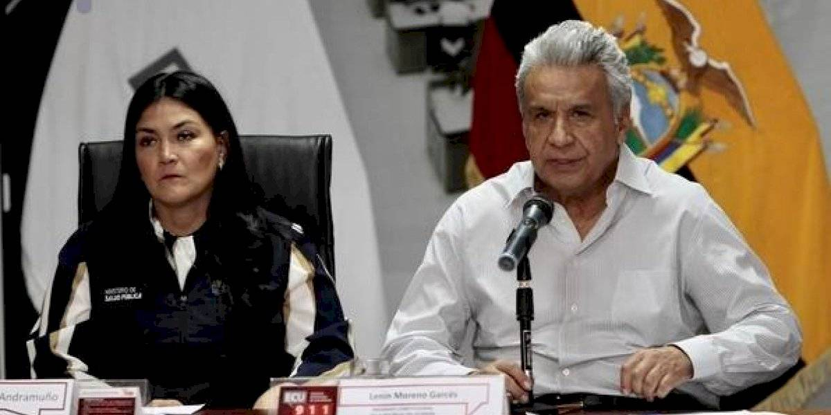 "Coronavirus en Ecuador: presidente Lenín Moreno invita a orar por ""nuestro país"""