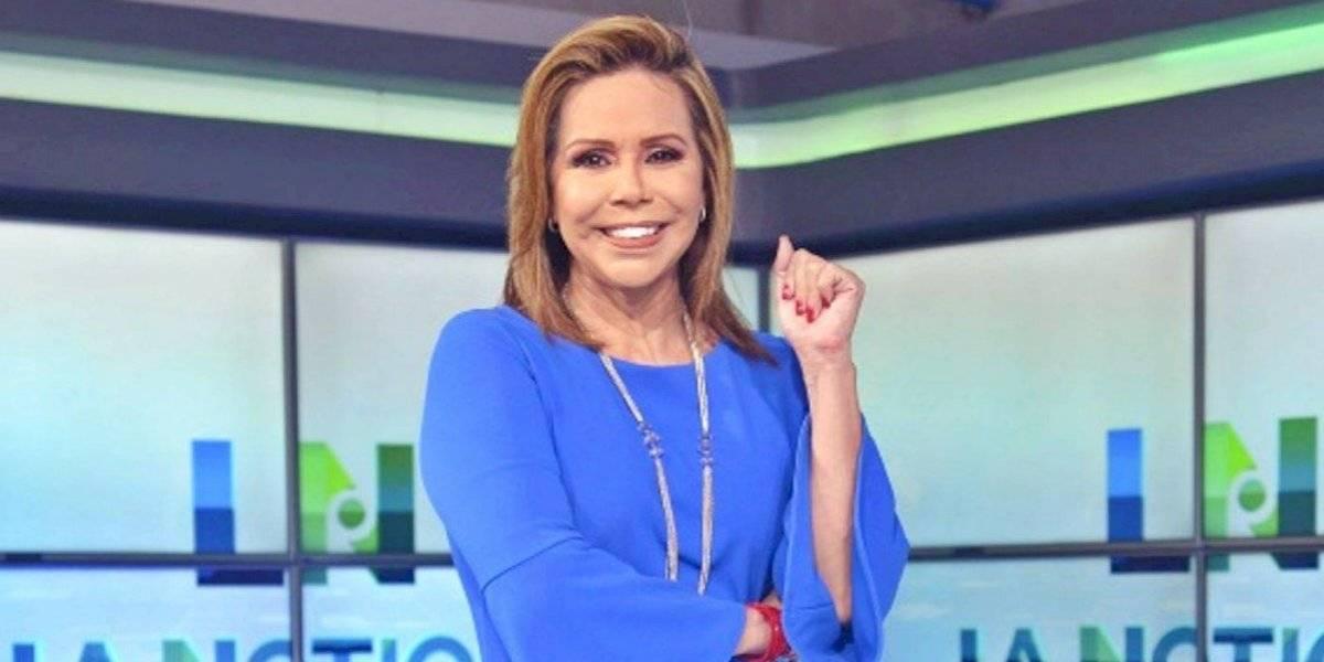 Presentadora de noticias, Luisa Delgadillo, tiene Covid-19