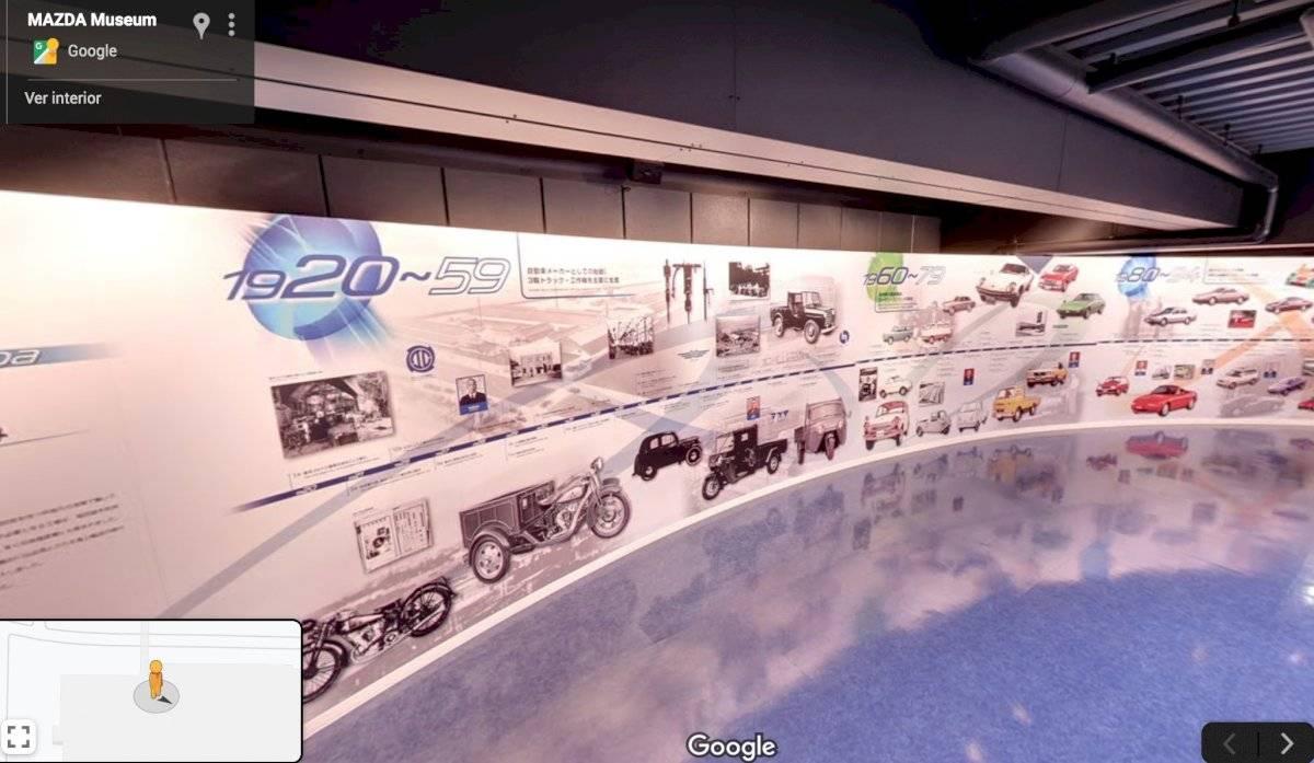 museo virtual de Mazda