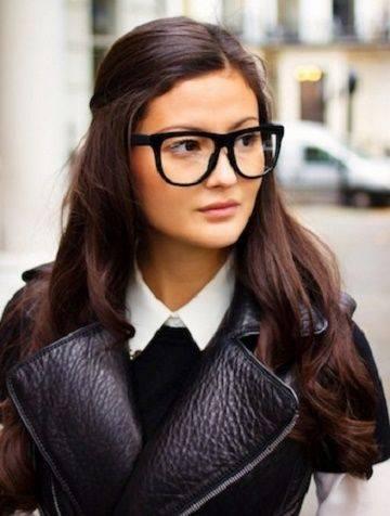 Peinados para chicas que usan lentes