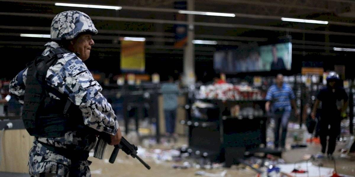 Guardia Nacional será desplegada en estados para evitar saqueos