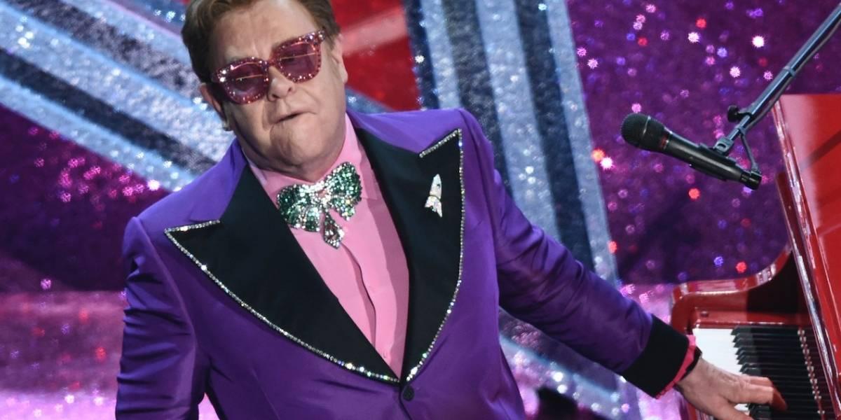 Elton John organiza concierto benéfico desde casa
