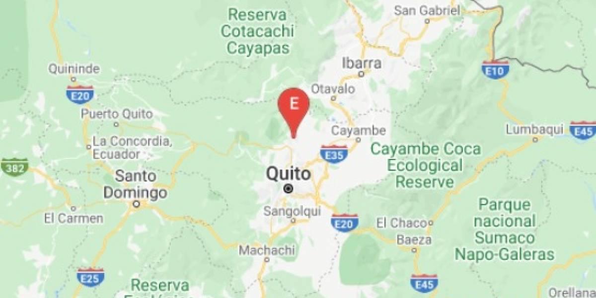 Sismo de 2.99 se registró en Quito la tarde este 25 de marzo