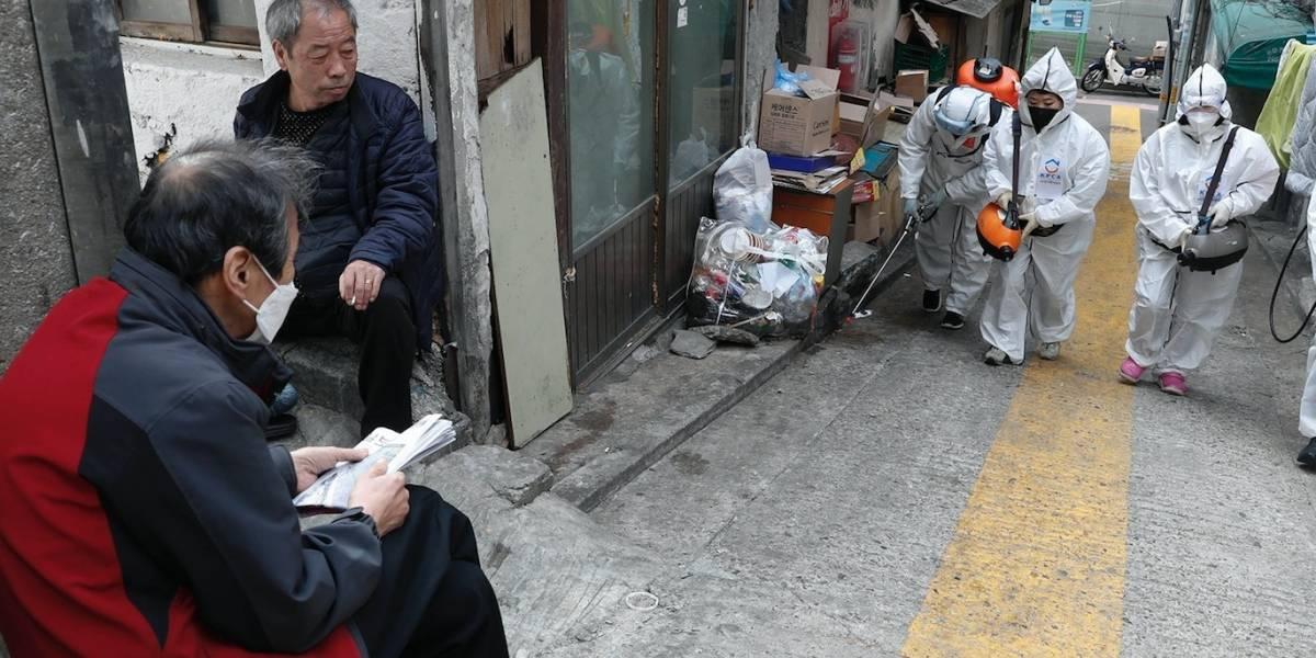 Corea del Sur reporta 104 casos de coronavirus y 5 muertes