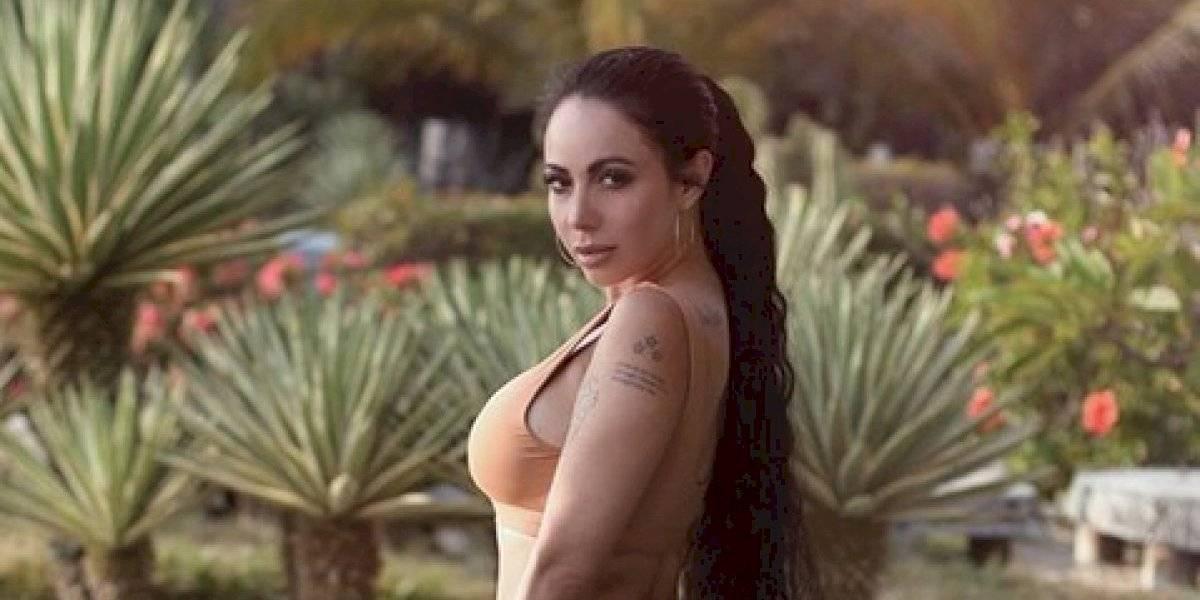 Jimena Sánchez presume su derrière durante la cuarentena