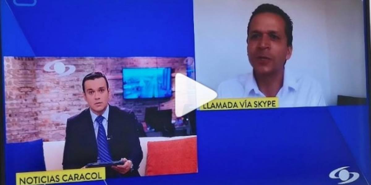 Con atrevida pregunta, Juan Diego Alvira hizo que alcalde de Soacha confesara su salario