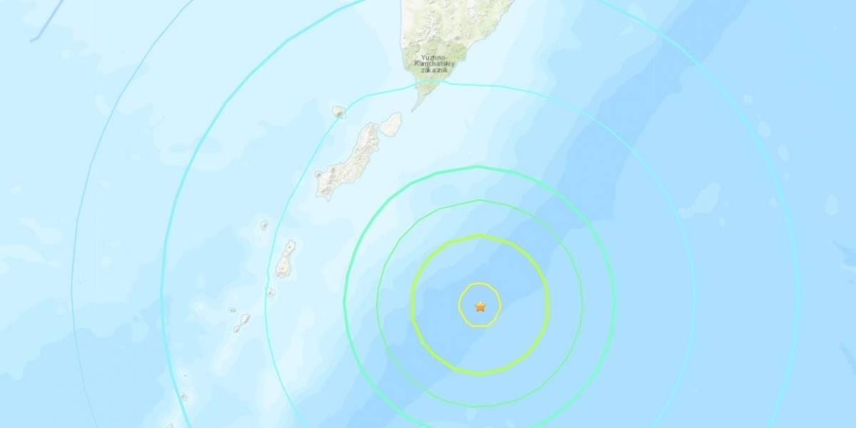 Sismo de magnitud 7.2 sacude las islas Kuriles, en el extremo oriente de Rusia