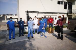 Quito: vecinos de la urbanización El Condado realizaron donaciones ante la emergencia sanitaria